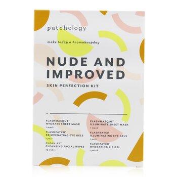 Nude & Improved Совершенствующий Набор: Увлажняющая Маска,