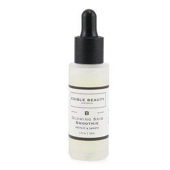 Купить B- Glowing Skin Разглаживающая Сыворотка Бустер - Защищает и Разглаживает 30ml/1oz, Edible Beauty