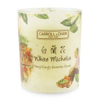 Свеча из 100% Пчелиного Воска - White Michelia 65g/2.3oz фото