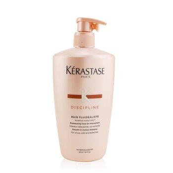 Купить Discipline Bain Fluidealiste Smooth-In-Motion Шампунь (для Непослушных, Поврежденных Волос) 500ml/16.9oz, Kerastase