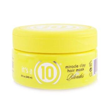 Купить Miracle Clay Маска для Волос (для Светлых Волос) 240ml/8oz, It's A 10