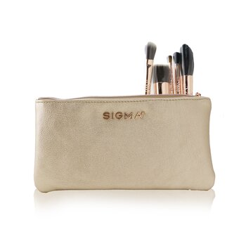 Купить Iconic Brush Set (5x Rose Gold brush + 1x Bag) 5pcs+1bag, Sigma Beauty
