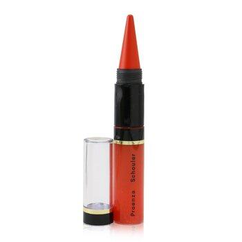 Купить Lip Kajal Duo Chroma (Proenza Schouler Edition) - # 08 Orange Arty -, Lancome