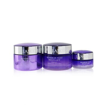 Купить Renergie Multi-Lift Ultra Set: Full Spectrum Cream 50ml + Night Cream 50ml + Eye Cream 15ml 3pcs, Lancome