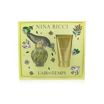 Купить L'Air Du Temps Coffret: Eau De Toilette Spray 50ml/1.7oz + Body Lotion 75ml/2.5oz 2pcs, Nina Ricci