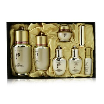 Купить Bichup Self-Generating Anti-Aging Essence Set: Essence (50ml+20ml) + Balancer 25ml + Emulsion 25ml + Moisture Essence 8ml + Cream 8ml + Lip Balm 1.3g 7pcs, Whoo (The History Of Whoo)