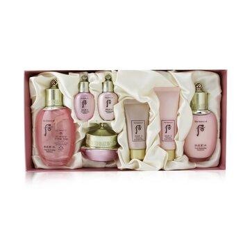 Купить Gongjinhyang: Soo Vital Hydrating Set: Balancer (150ml +20ml) + Emulsion (110ml + 20ml) + Cream 20ml + Cleanser 40ml + Overnight Mask 30ml 7pcs, Whoo (The History Of Whoo)