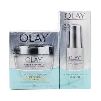 Купить Radiance Duo Set: Light Perfecting Essence 30ml + Light Perfecting Day Cream SPF 24 2pcs, Olay