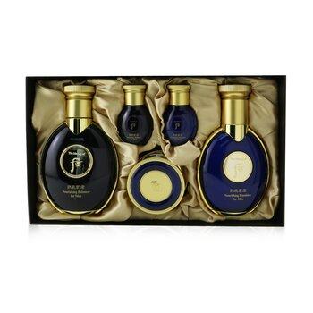Купить Gongjinhyang: Kun Nourishing For Men Set: Balancer (140ml+20ml) + Emulsion (100ml+20ml) + Cream 20ml 5pcs, Whoo (The History Of Whoo)