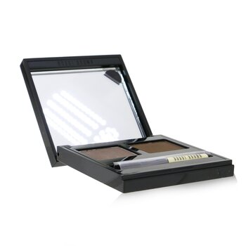 Brow Kit - # 3 Dark (Saddle/Mahogany) 3g/0.1oz, Bobbi Brown  - Купить
