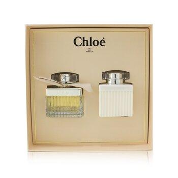 Купить Chloe Coffret: Eau De Parfum Spray 50ml/1.7oz + Perfumed Body Lotion 100ml/3.4oz