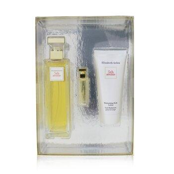 Купить 5th Avenue Coffret: Eau De Parfum Spray 125ml/4.2oz + Eau De Parfum 3.7ml/0.12oz + Body Lotion 100ml/3.3oz 3pcs, Elizabeth Arden