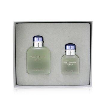 Купить Light Blue Coffret: Eau De Toilette Spray 125ml/4.2oz + Eau De Toilette Spray 40ml/1.3oz 2pcs, Dolce & Gabbana