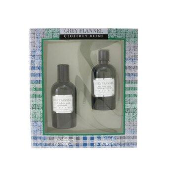 Купить Grey Flannel Coffret: Eau De Toilette Spray 120ml/4oz + After Shave Lotion 120ml/4oz (Green Box) 2pcs, Geoffrey Beene
