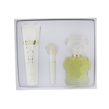 Купить Toy 2 Coffret: Eau De Parfum Spray 100ml/3.4oz + Body Lotion 150ml/5oz + Eau De Parfum Spray 10ml/0.3oz 3pcs, Moschino