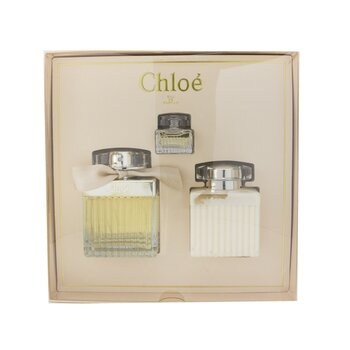 Купить Chloe Coffret: Eau De Parfum Spray 75ml/2.5oz + Perfumed Body Lotion 100ml/3.4oz + Eau De Parfum 5ml/0.16oz