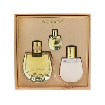 Купить Nomade Coffret: Eau De Parfum Spray 75ml/2.5oz + Perfumed Body Lotion 100ml/3.4oz + Eau De Parfum 5ml/0.16oz 3pcs, Chloe