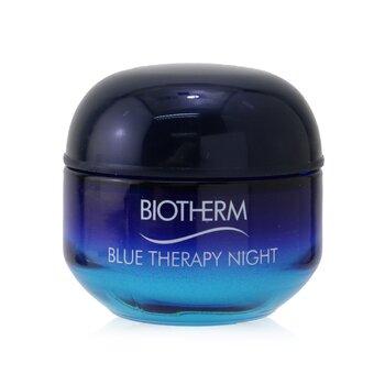 Купить Blue Therapy Night Cream - For All Skin Types (Box Slightly Damaged) 50ml/1.7oz, Biotherm
