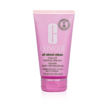 All About Clean Rinse-Off Foaming Cleanser - For Combination Oily to Oily Skin 150ml/5oz