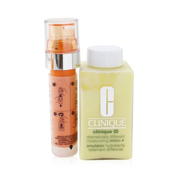 Купить Clinique iD Dramatically Different Moisturizing Lotion+ + Active Cartridge Concentrate For Fatigue 125ml/4.2oz