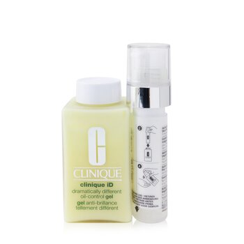Купить Clinique iD Dramatically Different Oil-Control Gel + Active Cartridge Concentrate For Uneven Skin Tone 125ml/4.2oz