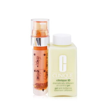 Купить Clinique iD Dramatically Different Oil-Control Gel + Active Cartridge Concentrate For Fatigue 125ml/4.2oz