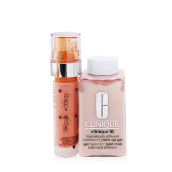 Купить Clinique iD Dramatically Different Tone-Up Gel + Active Cartridge Concentrate For Fatigue 125ml/4.2oz