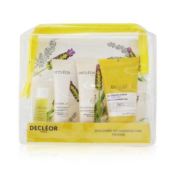 Купить Lavender Fine Firming Discovery Kit: Oil Serum 5ml+ Day Cream 15ml+ Flash Mask 15ml+ Bath & Shower Gel 50ml 4pcs, Decleor