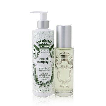 Купить Eau De Campagne Coffret: Eau De Toilette Spray 100ml/3.3oz + Gentle Bath And Shower Gel 250ml/8.4oz 2pcs, Sisley