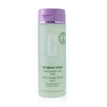 All About Clean Liquid Facial Soap Mild - Dry Combination Skin 200ml/6.7oz