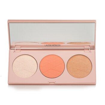 Купить Opening Night Cheek Palette (Blush, Bronzer & Highlighter) 3x6g/0.21oz, Laura Mercier