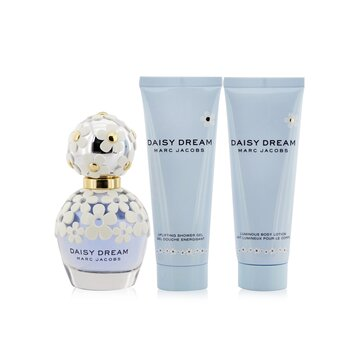Купить Daisy Dream Coffret: Eau De Toilette Spray 50ml/1.7oz + Luminous Body Lotion 75ml/2.5oz + Uplifting Shower Gel 75ml/2.5oz 3pcs, Marc Jacobs