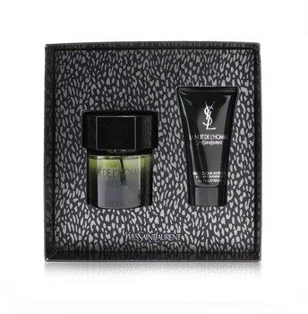 Купить La Nuit De L'Homme Coffret: Eau De Toilette Spray 60ml/2oz + Shower Gel 50ml/1.6oz 2pcs, Yves Saint Laurent