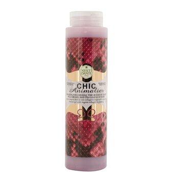 Купить Chic Animalier Shower Gel - Wild Orchid, Red Tea Leaves & Tiare 300ml/10.2oz, Nesti Dante