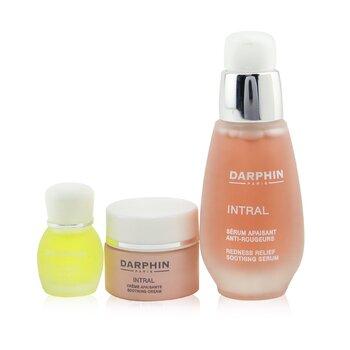 Купить Intral Soothing Botanical Wonders Set: Soothing Serum 30ml+ Soothing Cream 5ml+ Chamomile Aromatic Care 4ml 3pcs, Darphin