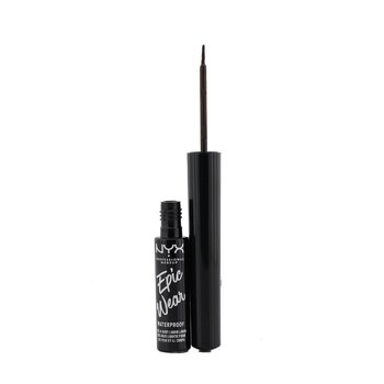 Купить Epic Wear Waterproof Eye & Body Liquid Liner - # Brown 3.5ml/0.12oz, NYX