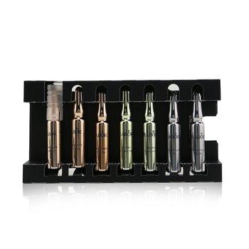 Купить Ampoule Concentrates Precious Collection (3x Rose Gold Energy, 2x Gold Volume, 2x Platinum Lift) 7x2ml/0.06oz, Babor