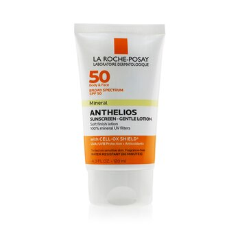 Купить Anthelios 50 Mineral Sunscreen - Gentle Lotion For Face & Body SPF 50 120ml/4oz, La Roche Posay