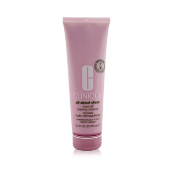 Купить All About Clean Rinse-Off Foaming Cleanser - Combination Oily to Oily Skin 250ml/8.5oz, Clinique