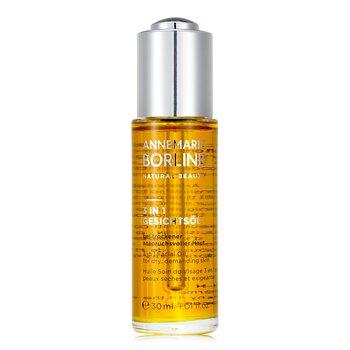Купить 3 In 1 Facial Oil - For Dry, Demanding Skin 30ml/1.01oz, Annemarie Borlind