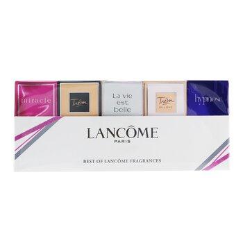Купить The Best Of Lancome Набор Миниатюр: Tresor, Hypnose, Miracle, Tresor In Love, La Vie EST Belle