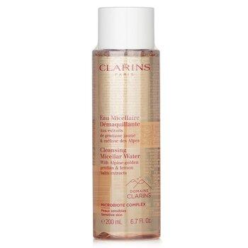 Купить Cleansing Micellar Water with Alpine Golden Gentian & Lemon Balm Extracts - Sensitive Skin 200ml/6.7oz, Clarins