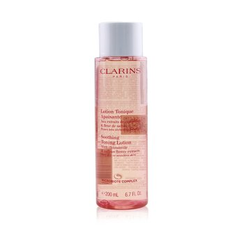 Soothing Toning Lotion with Chamomile & Saffron Flower Extracts - Very Dry or Sensitive Skin 200ml/6.7oz, Clarins  - Купить