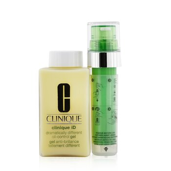 Купить Clinique iD Dramatically Different Oil-Control Gel + Active Cartridge Concentrate For Irritation 125ml/4.2oz