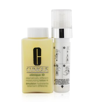 Купить Clinique iD Dramatically Different Moisturizing Lotion+ + Active Cartridge Concentrate For Uneven Skin Tone (White) 125ml/4.2oz