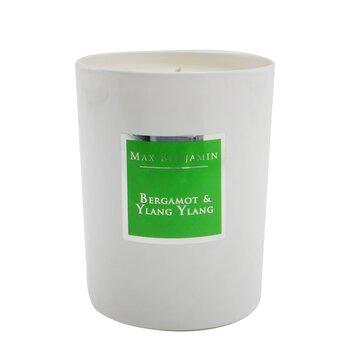 Купить Candle - Bergamot & Ylang Ylang 190g/6.5oz, Max Benjamin
