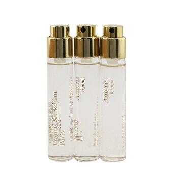 Купить Amyris Eau De Parfum Travel Spray Refills 3x11ml/0.37oz, Maison Francis Kurkdjian