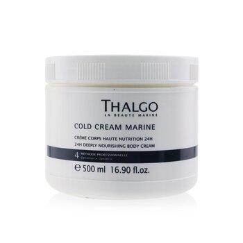 Купить Cold Cream Marine 24H Deeply Nourishing Body Cream (Salon Size) 500ml/16.9oz, Thalgo