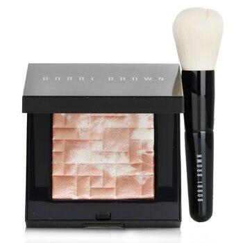 Купить Highlighting Powder Set (1x Highlighting Powder + 1x Mini Face Brush) - #Pink Glow 2pcs, Bobbi Brown