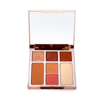 Купить Instant Look Of Love Look In A Palette (Powder+Blush+Highlight+Bronzer+3x Eye Color) - # Glowing Beauty 21.5g/0.75oz, Charlotte Tilbury